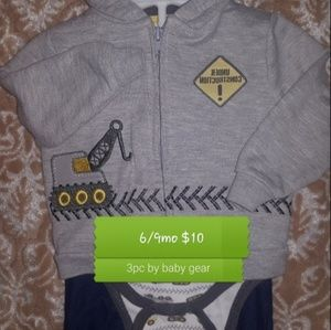 Infant/toddler boys 3pc outfit